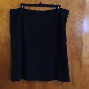 Dress Barn Black Skirt Size 18